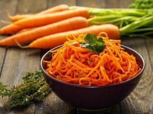 salud de tus ojos - zanahoria